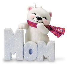 Hallmark 2016 Mom Polar Bear Ornament