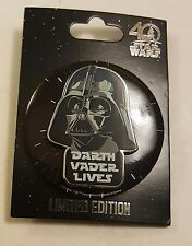 Star Wars Celebration 2017 Darth Vader Lives LE 4000 Disney Pin & Button FREE SH