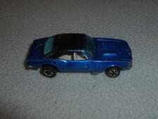 VINTAGE HOTWHEELS REDLINE CUSTOM CAMARO MATTEL 1968 RARE  METALLIC BLUE CAR >
