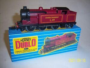 Hornby Dublo N2 London Transport condensing tank loco. Boxed-Neverwazza Code 3
