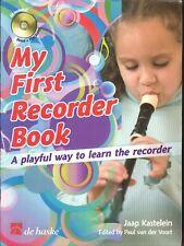 My First Recorder Book Kastelein 2007 De Haske No CD Waltz Medley Old MacDonald