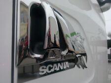 Manija de la puerta de cromo Scania Serie R Cover Conjunto de Acero Inoxidable