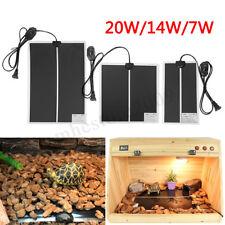 7W/14W/20W Reptile Adjustable Temperature Heater Mat Pad Lizard Heating