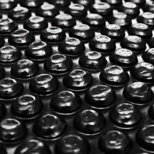 vidaXL Cubierta Flotante Piscina Rectangular Polietileno Negro 6x4m Protección