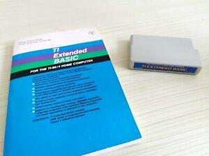 Texas Instrument TI-99/4A Extended Basic Modul + Handbuch