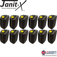 Janit-X Ecostacker Black Drum & Yellow Lid 20 Litre BPA Free Food Jerrycan NEW