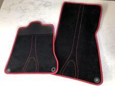 Mclaren MP4-12C 650S 570S 675LT 720S Alcantara Floor mats - Carbon heel pad