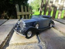 SOLIDO AGE D'OR ROLLS ROYCE PHANTOM cabriolet gris bleu 46 de 76 neuf sans boite