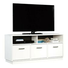 "Mainstays 3-Door TV Stand for TVs up to 50"", Soft White Finish"