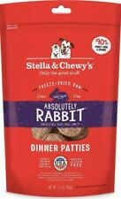 Stella and Chewy's Freeze-Dried Absolutely Rabbit Dinner Patties Dog Food 14oz