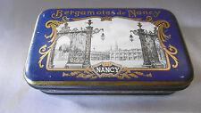 boite metal bergamotes de nancy