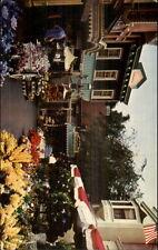 Disneyland Flower Mart Postcard