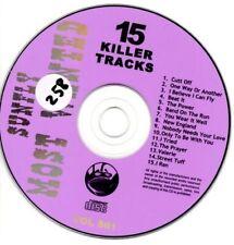 Sunfly Most Wanted 861 15 Massive Hits CDG Karaoke SMW861