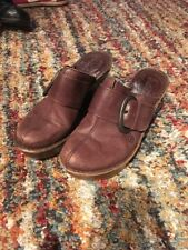 Women's Born Shoes, Clogs/heels, Brown, Leather, Cute, 36.5/6