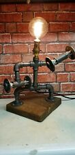 steampunk lamp industrial