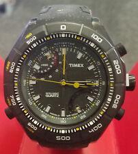 Timex Men's Intelligent Altimeter Black Rubber T2N729 - Retail $200 (53% off)