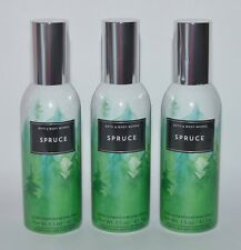 3 BATH & BODY WORKS SPRUCE CONCENTRATED ROOM SPRAY PERFUME MIST AIR FRESHENER