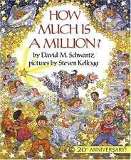 How Much Is a Million? by David M. Schwartz (1993, Paperback, Reissue)