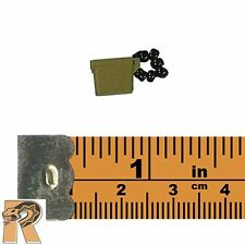 Panama 82nd Airborne - Ear Plug Case - 1/6 Scale - S. Story Action Figures