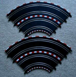 Carrera Go 6 Curve Track  1:43 Track Parts Slot Car section - For 4 lane layout
