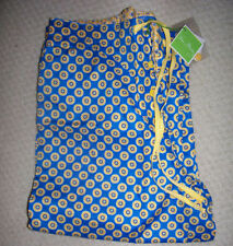 VERA BRADLEY Riviera Blue SMALL Cotton Lawn Pajamas PJ Pants NEW Small S SM