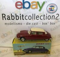"DIE CAST "" DS 19 CITROEN COD. 530 "" DINKY TOYS (ATLAS) SCALA 1/43"