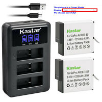 Kastar Battery Charger gopro5 AABAT-001 GOPRO HERO 510 OS827 GOPRO 5 AHDBT-601