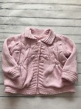 Baby Girls Clothes - Cute Newborn Knitted Jacket