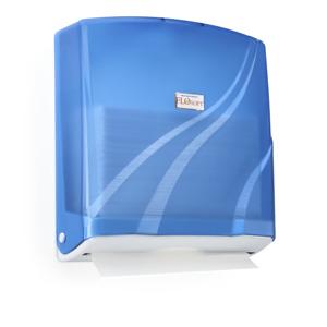 Z Folding Paper Towel Dispenser Wall Mount ABS Plastic 300 Paper Towel Capacity