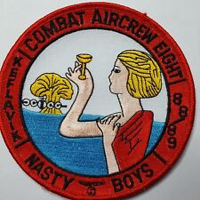 U.S. Navy Combat aircrew eight Nasty Boys Patch Patch