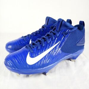 Nike Baseball Max Air MIKE TROUT 3 Pro Racer Blue Metal Cleats NEW! $140