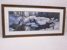 "Stephen Lyman ""High Creek Crossing"" Limited  #847/1000 Signed Framed Matted"