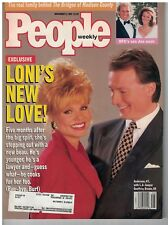 Nov 8, 1993  issue of People Magazine Loni Anderson's New Love Cover