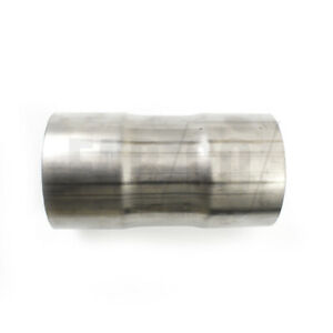 Tube Joiner Swaged 304 Stainless Steel Exhaust Pipe Sleeve Connector