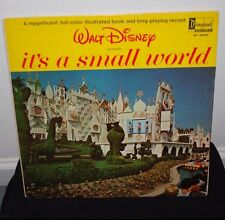 Walt Disney It's A Small World Vinyl Record Classic Rare Music Collectible