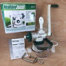 Lexen Manual Wheatgrass Juicer GP27 Complete Excellent Condition