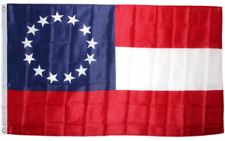 3x5 Stars and Bars First National 13 Southern States CSA Civil War flag