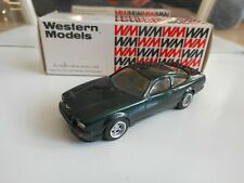 Western Models Aston Martin Virage 1989 in Green on 1:43 in Box