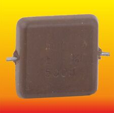 1000 pF 500 V 5% LOT OF 15 RUSSIAN MILITARY SILVER-MICA CAPACITORS KSO-5G КСО-5Г