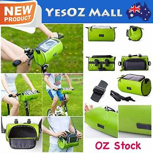 Cycling Bike Bicycle Cell Mobile Phone Touch Screen Package Front Tube Bag NEW
