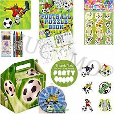 Boys Girls Filled Party Boxes Themed Kids Football Party Supplies Ready Made