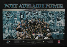 Port Adelaide 2004 Premiers Piece Signed by G Wanganeen