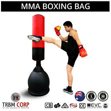 NEW Martial Arts Punching Bag MMA Kick Boxing Training 165cms Solid Base/ Neck