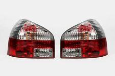 Audi A3 8L 96-03 Hatchback Clear Red Rear Lights Lamps Pair Set Left Right