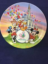 Disney World 20th anniversary Collector Plate Strike up the Band