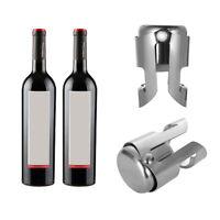 Barware Plug Sealer Liquor Spirit Weinflaschenverschluss aus Edelstahl DE