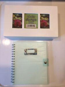 Photo Storage Lot Box Book Album New