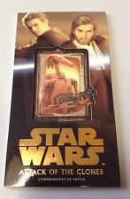 STAR WARS ATTACK OF THE CLONES 3D WIDEVISION BATTLE DROID PATCH CARD MP-12 27/50