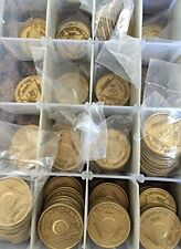 Bulk Lot Of 30 AA Chips Alcoholics Anonymous Medallions Bronze Any Month Or Year