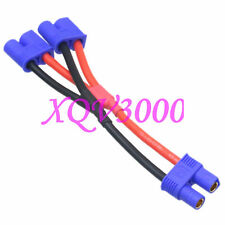 E-flite EC3 Female to dual EC3 Male Parallel Y Harness Battery charging cable